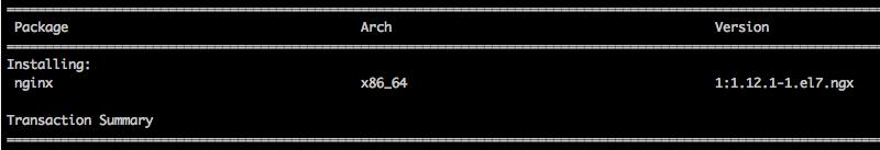 Install nginx on CentOS 7
