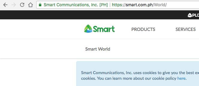 smart.com.ph EV SSL